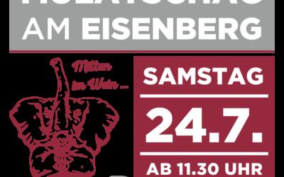 24. Juli: Mulatschag am Eisenberg